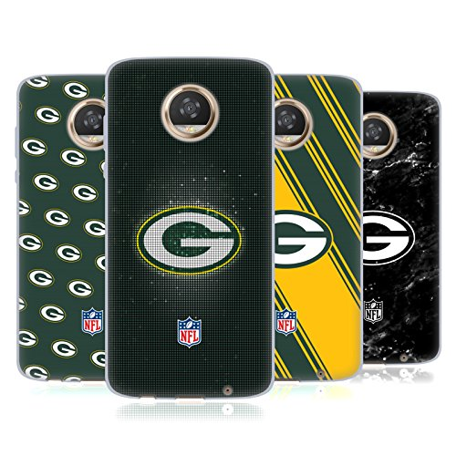 Official NFL 2017/18 Green Bay Packers Soft Gel Case for Motorola Moto Z2 Play