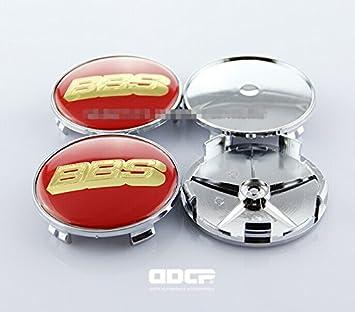 D & R® Set de 4 piezas 68 mm Rueda Centro Tapacubos Tapas con BBS