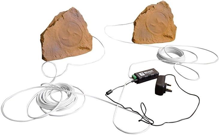 Eagle - Kit de altavoces Bluetooth para jardín, para exteriores, piedra arenisca.: Amazon.es: Bricolaje y herramientas