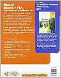 Excel Macros y VBA / VBA and Macros for Microsoft Office Excel (Spanish Edition)