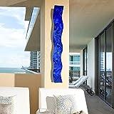 3D-Abstract-Metal-Wall-Art-Sculpture-Wave-Modern-Home-Dcor-by-Jon-Allen-465-x-6