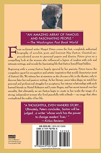 Amazon May Sarton Biography 9780449907986 Margot Peters Books