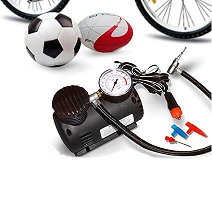 Compresor Portátil Aire Comprimido 12 V coche moto Balones