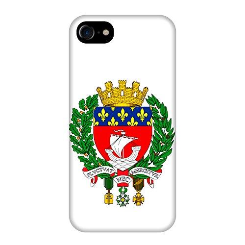 Coque Apple Iphone 7 - Devise Paris blanche