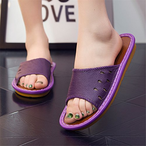Purple Women TELLW Femme pour Chaussons wIw1qPxR