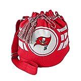 NFL San Francisco 49ers Women's Ripple Drawstring Bucket Bag