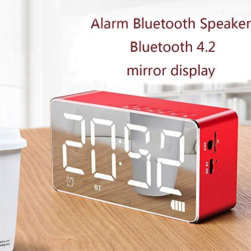 - Q9 Mini Bluetooth Wireless Super Bass Speaker TF Card Audio Alarm Clock Home - Q9 Bluetooth Speaker