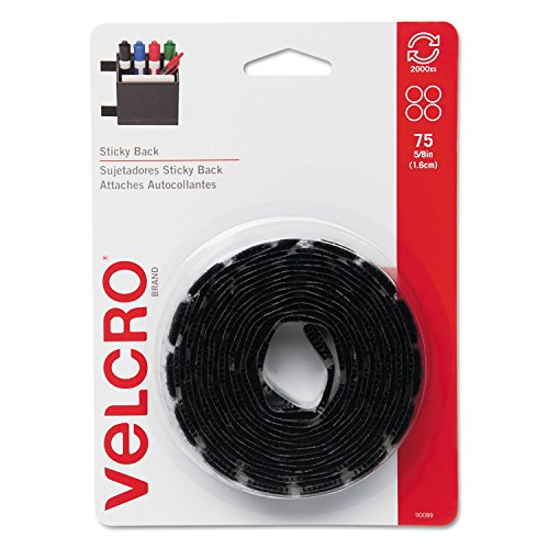 velcro-sticky-back-hook-and-loop-dot-fasteners-5-8-inch-black-75-pack