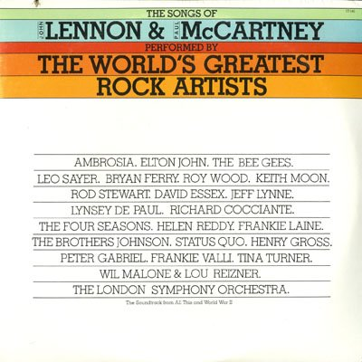Elton John - The Songs Of John Lennon & Paul Mccartney Performed By The World