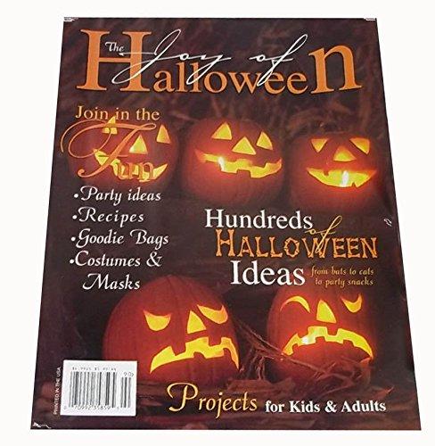 The Joy of Halloween Magazine Fall 1998 - Hundreds of Halloween Ideas (Haunted House Ideas For Halloween Party)