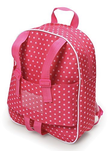 Badger Basket Doll Travel Backpack - Star Pattern (fits American Girl dolls) (Doll Carrier Pattern For 18 In Doll)