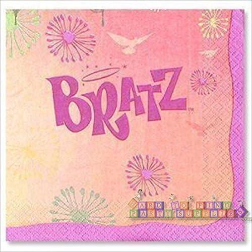 Unique Bratz Fashion Pixiez Large Napkins 16ct