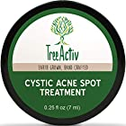 TreeActiv Cystic Acne Spot Treatment, Best Extra Strength Fast Acting Formula for Clearing