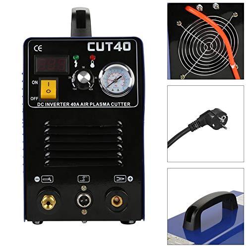 Yogasada CUT40 Profesional 50A Inversor Digital Aire Máquina de Corte por Plasma Plasma 220 V Máquina de Corte por Plasma Cortador Máquina de Soldadura: ...