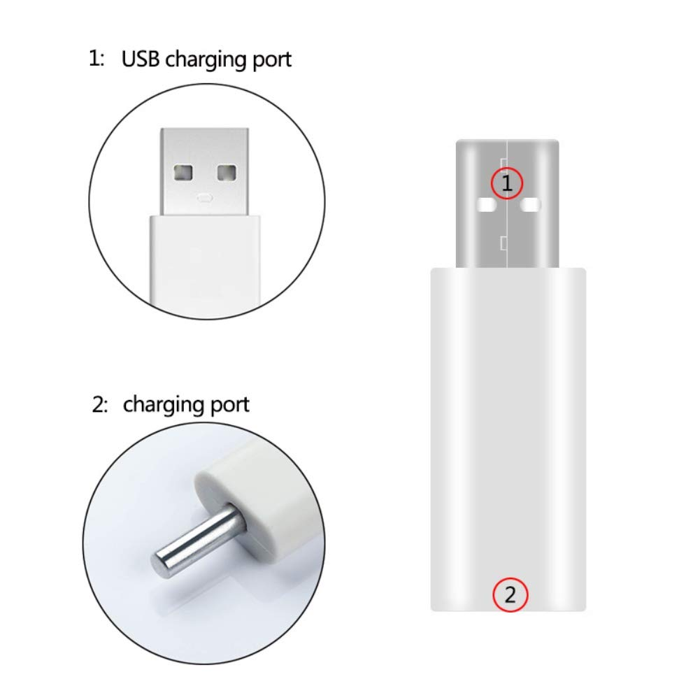 Dkhsy Fishing Float Rechargeable Battery CR425 USB Charger For Electronic Floats Batteries Glow Stick Charger Night Fishing Accessories Tackles