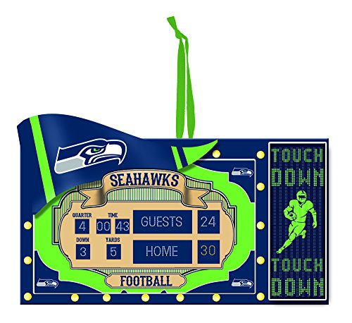 Seattle Seahawks Scoreboard Ornament