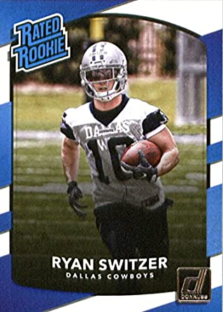 2017 Donruss #339 Ryan Switzer Dallas Cowboys Rated Rookie Football Card