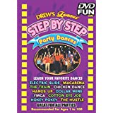 """Amscan Drew's Famous Step by Step Party Dance Educational DVD, Multicolor, 4.8"""" x 5.6"""""""