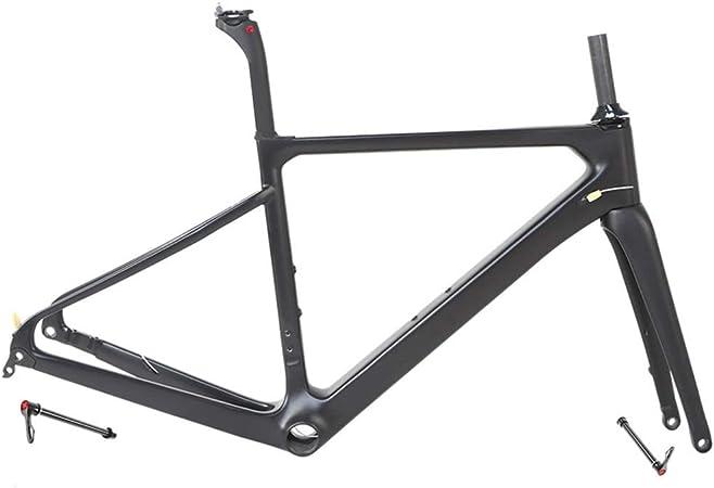 LJHBC Marco de Bicicleta Fibra de Carbono T900 Marco de ...