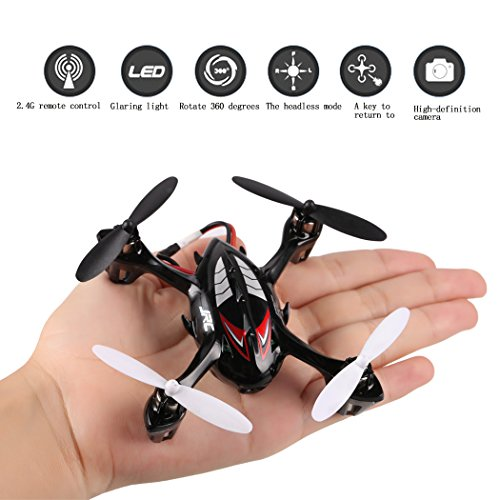 Voomall JJRC H6C 2.4GHz 4Ch 6 Axis Gyro Drone Auto Return 360 Eversion Quadcopter with 2.0MP Camera, Best Real Dolls