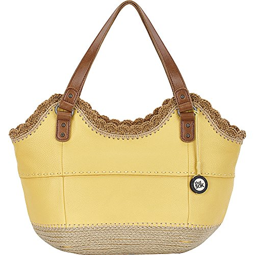 The Sak Indio East West Satchel (Sunlight Espadrille) by The Sak