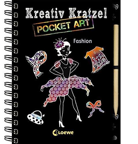 Kreativ-Kratzel Pocket Art: Fashion (Kreativ-Kratzelbuch)