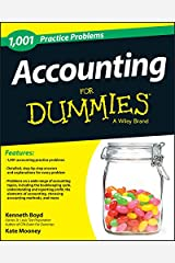 1,001 Accounting Practice Problems For Dummies Paperback