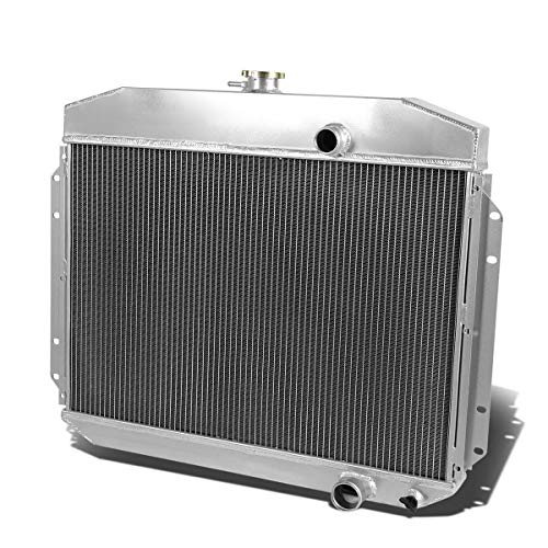 CoolingCare 2 Row Core Aluminum Radiator for Ford F-100 F-250 F-350 Pickup Truck 1961-1964 ()