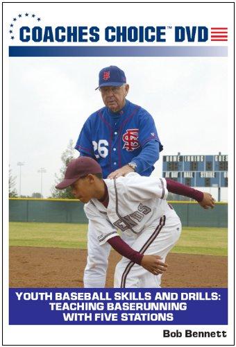 Baseball Baserunning Drills (Youth Baseball Skills and Drills: Teaching Baserunning With Five Stations)