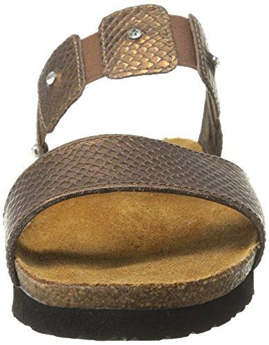 Wedge Naot Sandal lizard Ashley Women's Brown vzqqnfwBUx