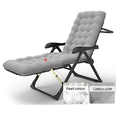 Tumbona Plegable Cama Plegable sillas reclinables Tumbona ...