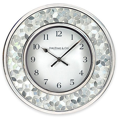 FirsTime Arabesque Mosaic Wall Clock