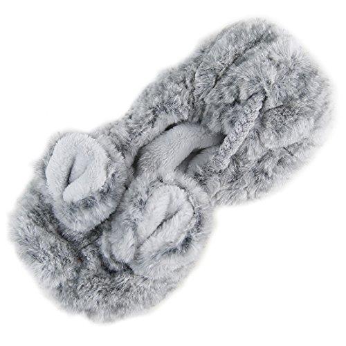 Forfoot Slipper Sokken Voor Dames, Non Slip Comfortabele Slippers Muis Grijs