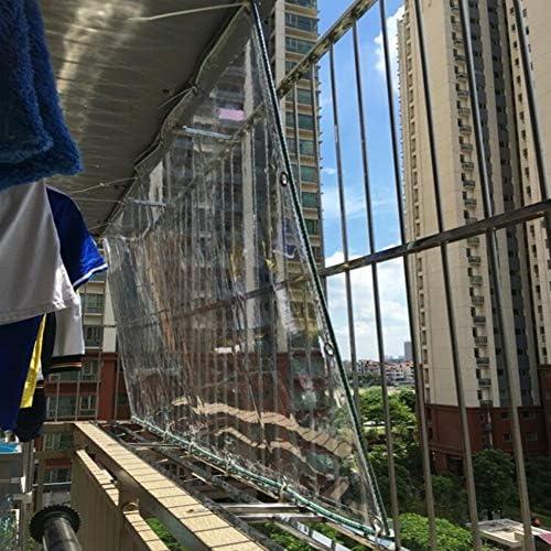 WUZMING Transparente Lona De Protección Jardín Balcón Impermeable ...