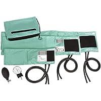 Prestige Medical - 882-COM-AQS 3-in-1 Aneroid Sphygmomanometer Set with Carry Case, Aqua Sea