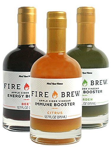 - Fire Brew Health Tonic Apple Cider Vinegar Based Drink (3 pack)