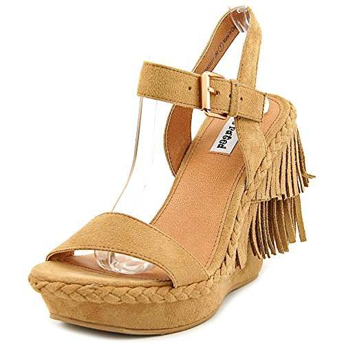 Not Rated Roaring Ruby Women Open Toe Synthetic Tan Wedge...