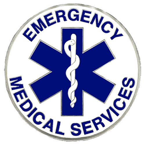 Siskiyou Gifts EMS Enameled Metal Hitch Cover