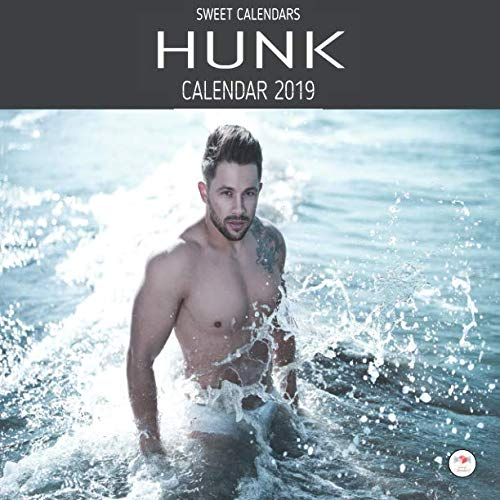 Guy Shirtless - Hunk Calendar 2019: Sexy Guy Wall Calendar 2019 8.5 x 8.5 | 12 Monthly Colorful Images of Studs, Hot Guys, Shirtless Guys, Hunks And Guy Candy Representing the 12 Months Of The Year