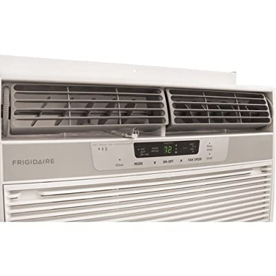 Frigidaire FRA123CV1 12,000 BTU 115-Volt Window-Mounted Compact Air Conditioner with Full-Function Re,