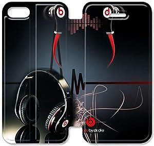 Beats G7D11X2 iPhone 6 6S Plus 5.5 del caso del tirón del cuero funda L5W25N4 Hacer fundas caja del teléfono