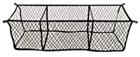 Highland (9501300) Black Three-Pocket Storage Net