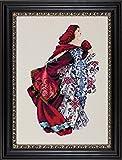 Mirabilia Nora Corbett Cross Stitch Chart ~ RED