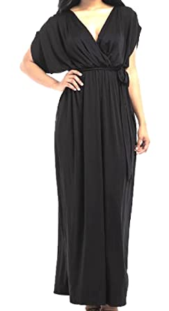 b6c204b1ccd Comfy Womens Plus Size Strappy Western Baggy Loose Ruffle Dress Black S