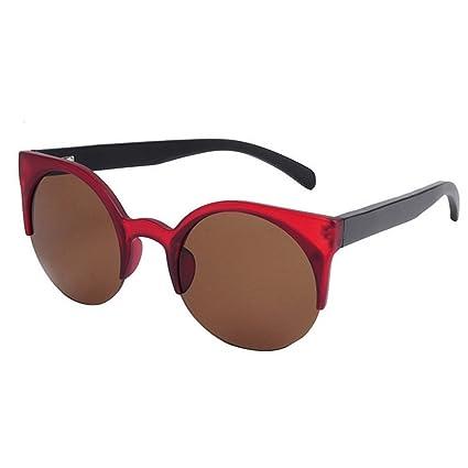 Gafas de sol retro Personalidad de la mujer Ojos de Gato ...