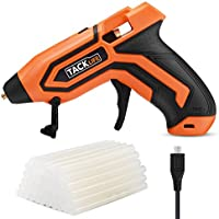 Tacklife 3.6-volt Mini Rechargeable Cordless Glue Gun with 45 Glue Sticks