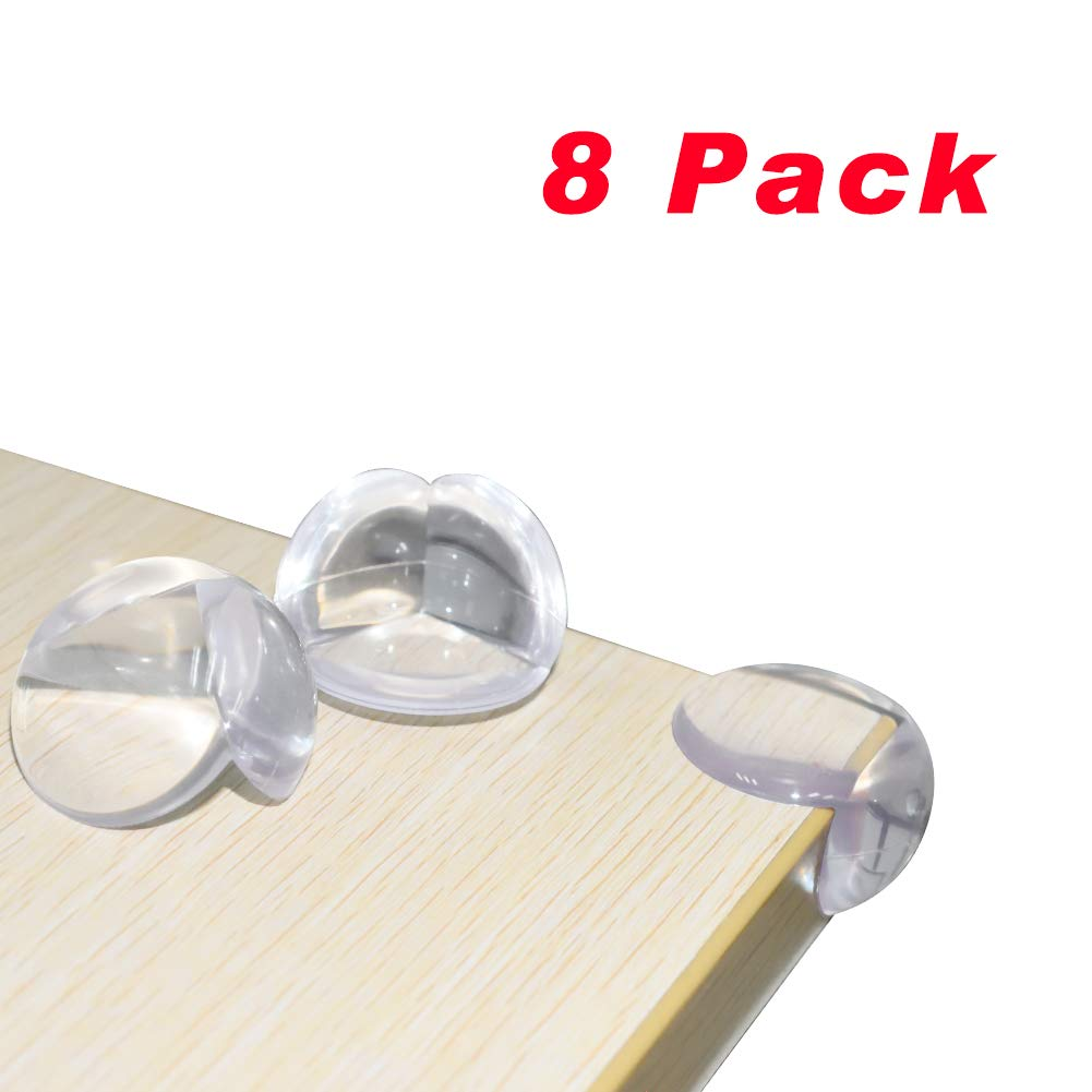 Corner Protector Baby Proofing Corner Guards - 8 Pack, Clear for Tables, Furniture, Sharp Corner, Baby Safety by Slicemall