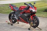 Wine Red with Matte Black Fairing Bodywork Aftermarket Painted ABS plastic Injection Molding Kit for 2007-2008 07-08 Yamaha Yzf R1 1000