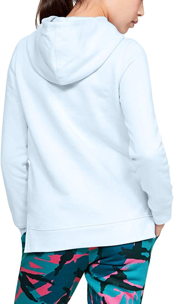 Under Armour Girls Rival Print Fill Logo Hoodie