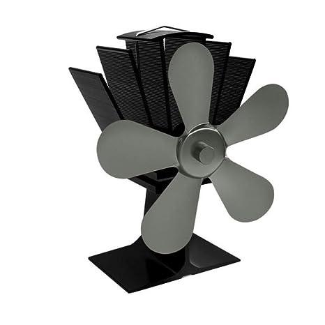 AOHMG Ventilador para Estufa Ventilador accionado por Calor ...